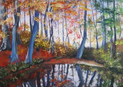 """""""Morning Whispers"""" - acrylic on canvas by Kamila Kokoszynska"""