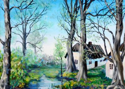 """""""Untold Stories"""" - acrylic on canvas by Kamila Kokoszynska"""