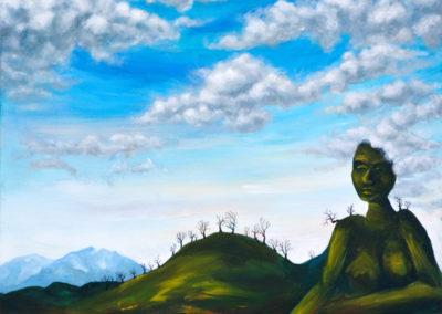 """""""Mother Nature"""" - acrylic on canvas by Kamila Kokoszynska"""